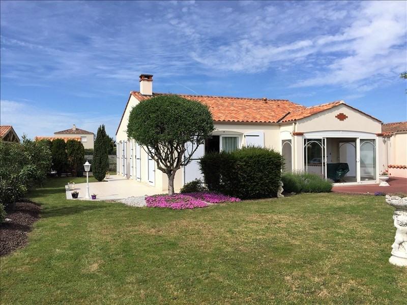 Vente maison / villa St vincent sur jard 286000€ - Photo 1