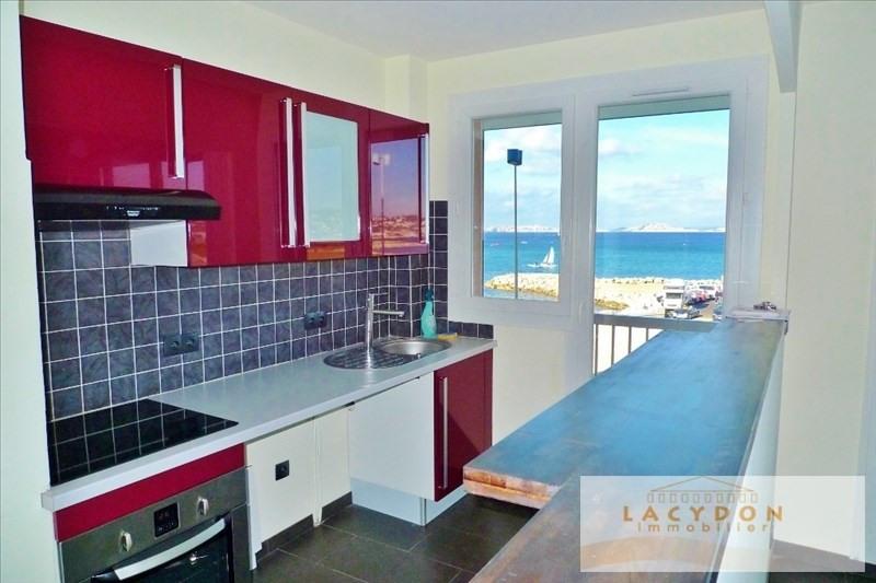 Rental apartment Marseille 8ème 780€ CC - Picture 2