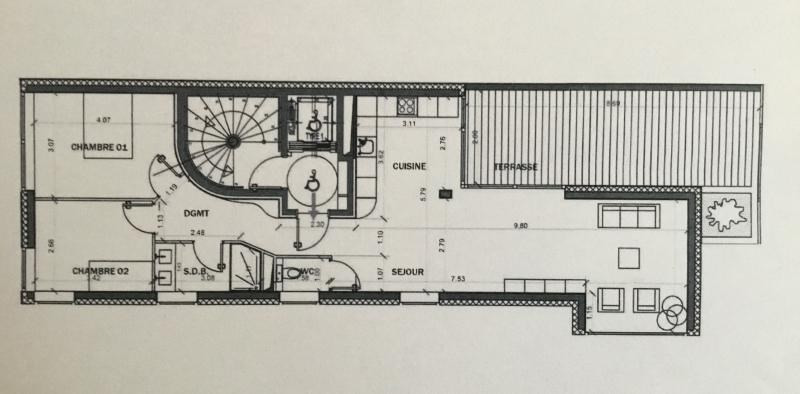 Venta de prestigio  apartamento Strasbourg 328800€ - Fotografía 3