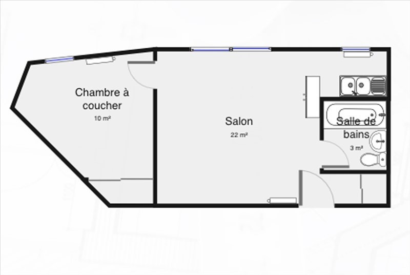 Sale apartment Palaiseau 168250€ - Picture 4