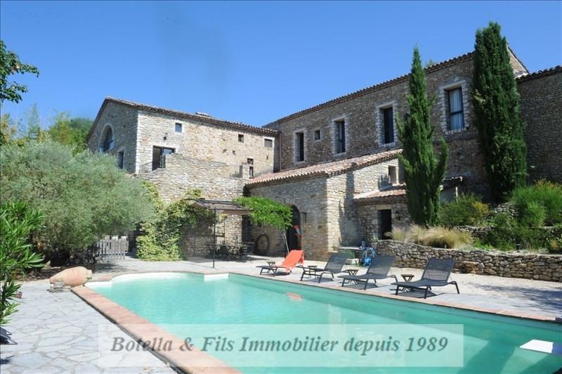 Immobile residenziali di prestigio casa Lussan 1092000€ - Fotografia 2