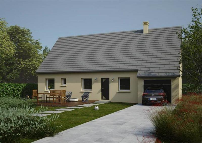 Maison  4 pièces + Terrain 477 m² Calonne-Ricouart par MAISONS KERBEA