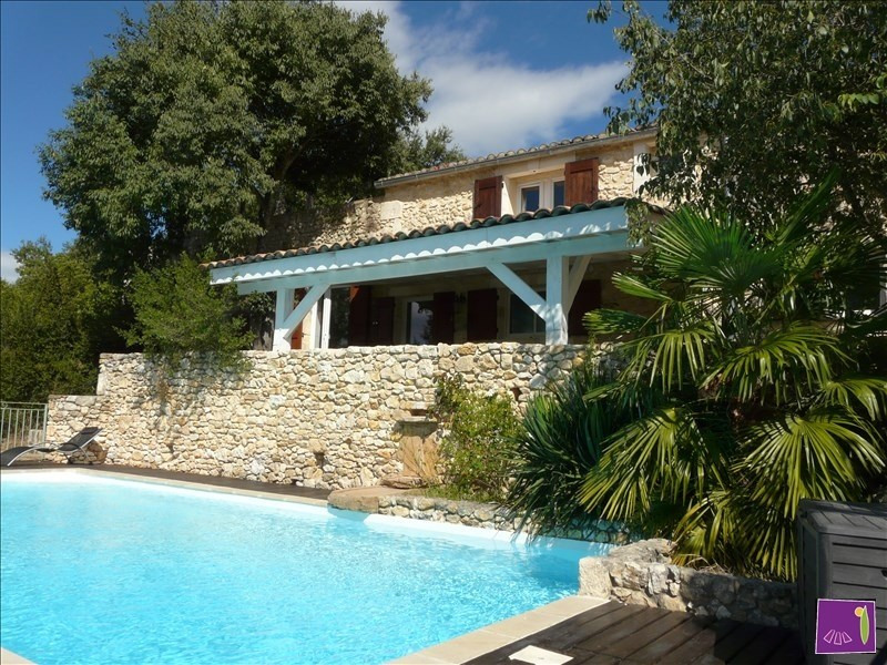 Deluxe sale house / villa Lussan 703 000€ - Picture 1