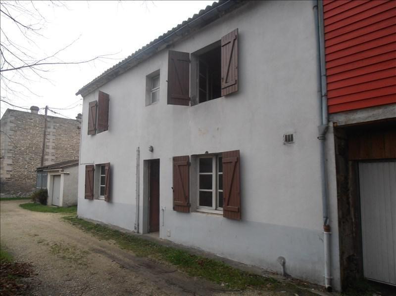 Sale house / villa Le gond pontouvre 54500€ - Picture 1