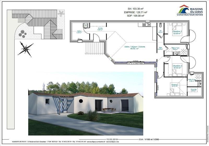 Vente maison / villa Meschers sur gironde 239840€ - Photo 2