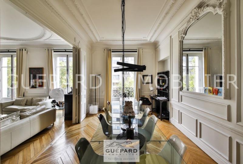 Vente de prestige appartement Paris 17ème 2789000€ - Photo 2