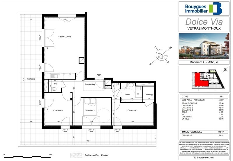 Sale apartment Vetraz monthoux 368000€ - Picture 2