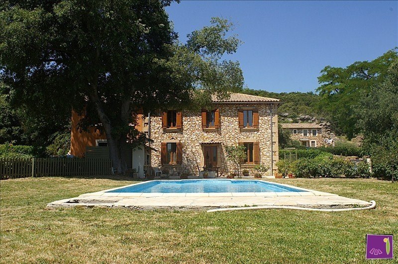 Deluxe sale house / villa Uzes 699 000€ - Picture 1