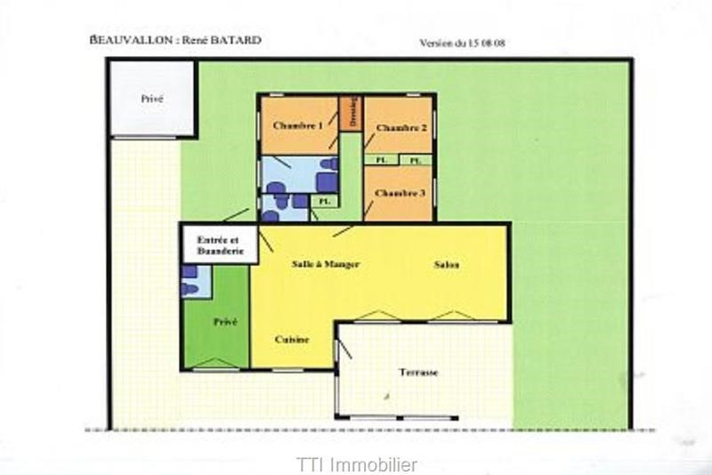 Vacation rental house / villa Sainte maxime  - Picture 13