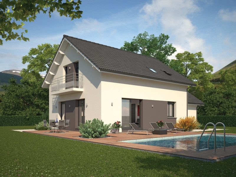 Maison  4 pièces + Terrain 870 m² Viviers-du-Lac par MAISON FAMILIALE DRUMETTAZ CLARAFOND