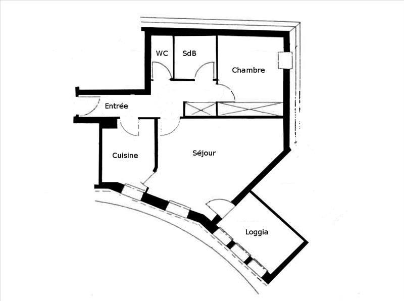 Location appartement Palaiseau 850€ CC - Photo 1