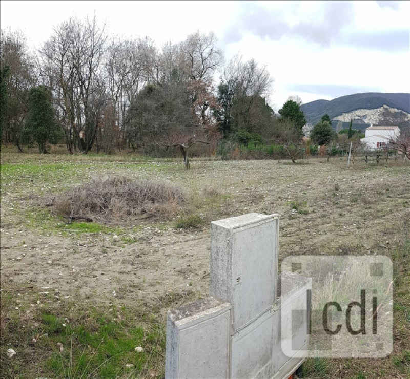 Vente terrain Cruas 131500€ - Photo 1