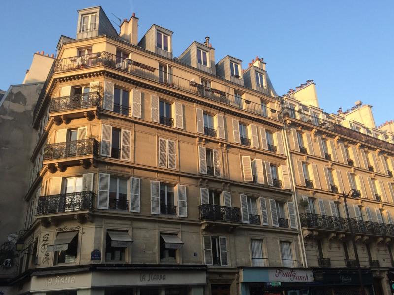 Rental apartment Paris 4ème 950€ CC - Picture 1