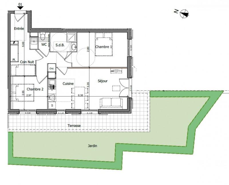 Vente appartement Saint gervais les bains 239000€ - Photo 15