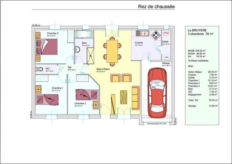 Maison  4 pièces + Terrain 400 m² Voves par LES RESIDENCES DE LA VALLEE