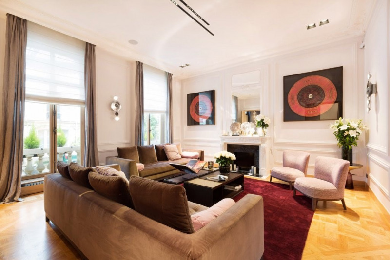 Revenda residencial de prestígio casa Paris 8ème 10800000€ - Fotografia 5