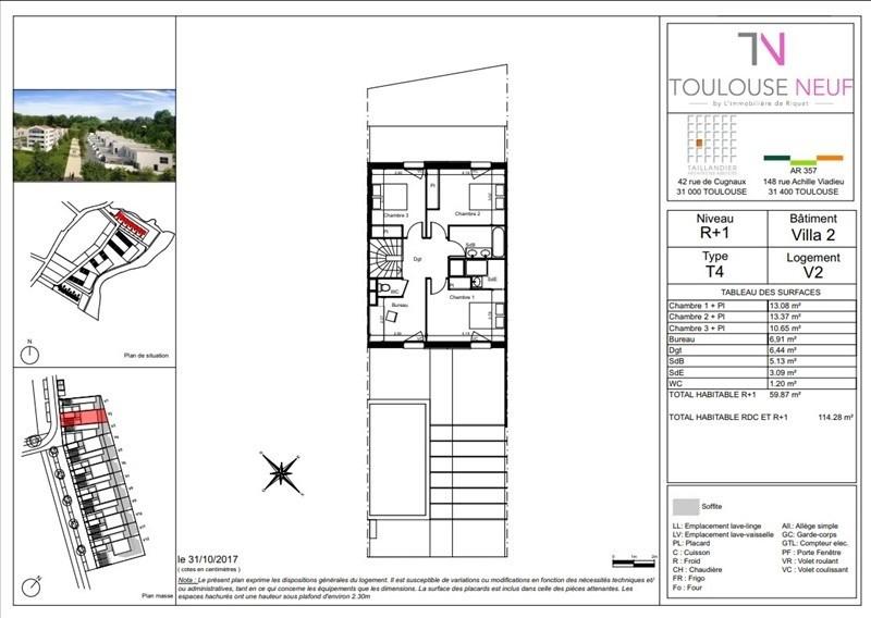 Vente maison / villa Toulouse 335900€ - Photo 2