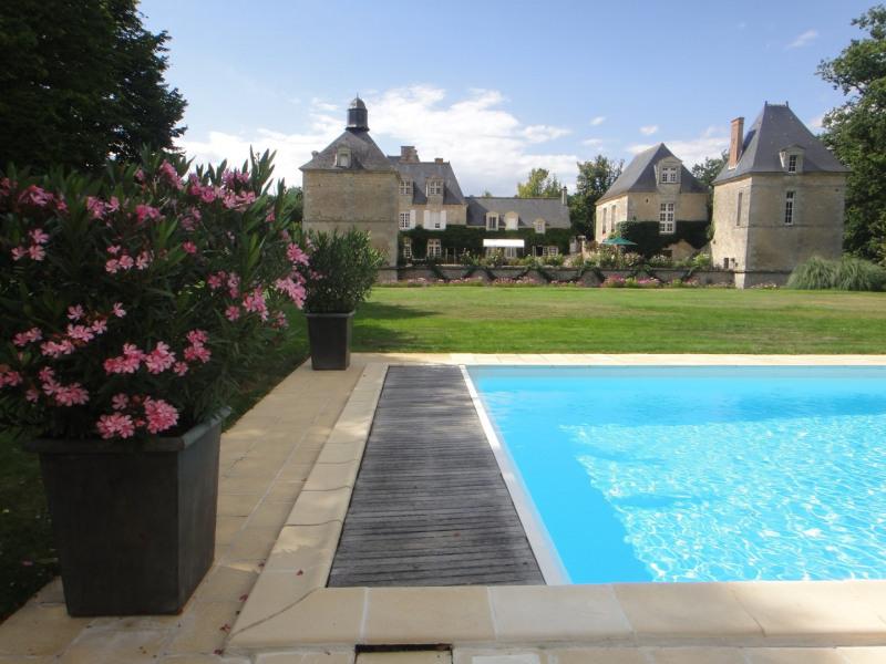 Revenda residencial de prestígio castelo Semblancay 3300000€ - Fotografia 2