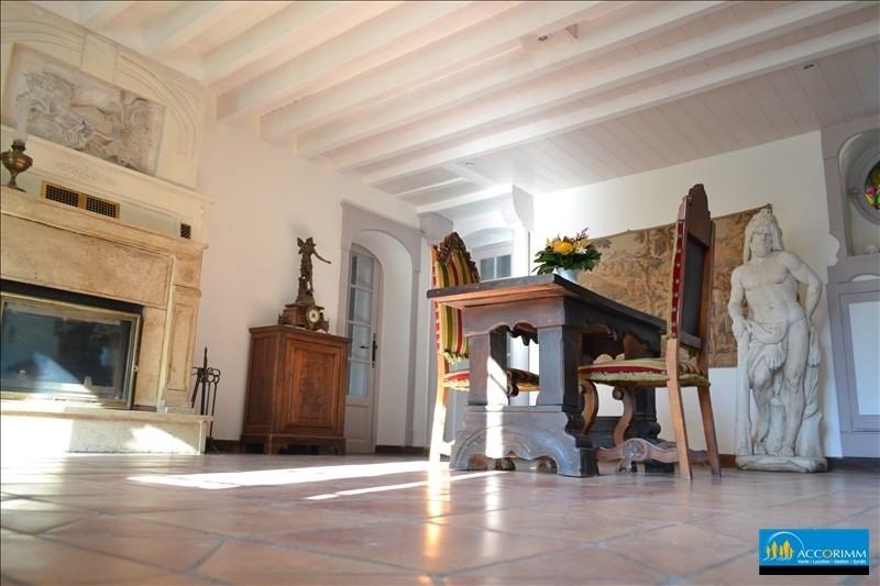 Vente de prestige maison / villa St just chaleyssin 540000€ - Photo 7