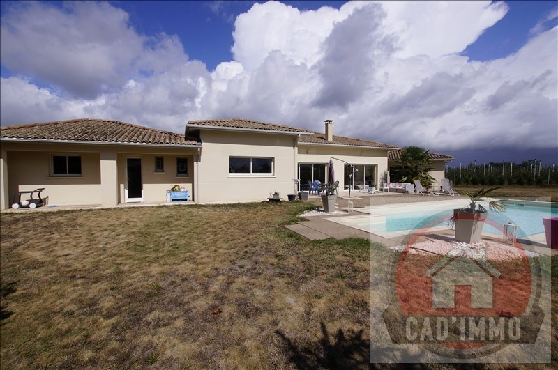 Sale house / villa Lamonzie saint martin 398 500€ - Picture 2