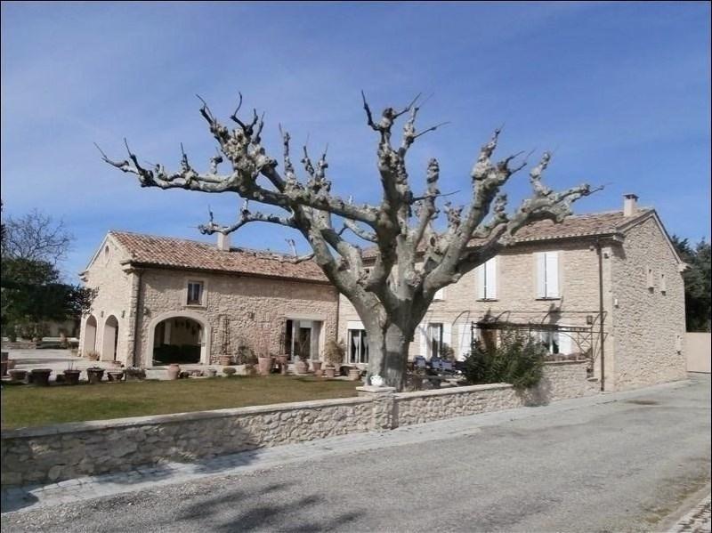 Deluxe sale house / villa La roque d antheron 1310000€ - Picture 1
