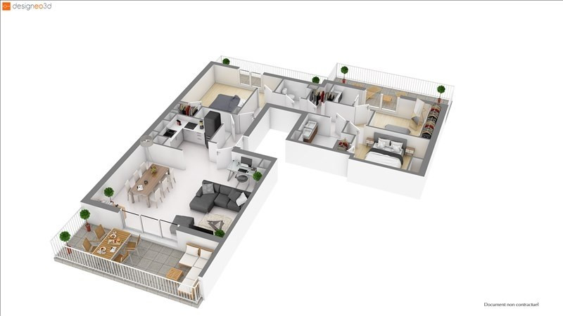 Sale apartment Pornic 364400€ - Picture 4