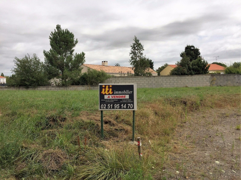 Vente terrain Chateau d olonne 112 800€ - Photo 1