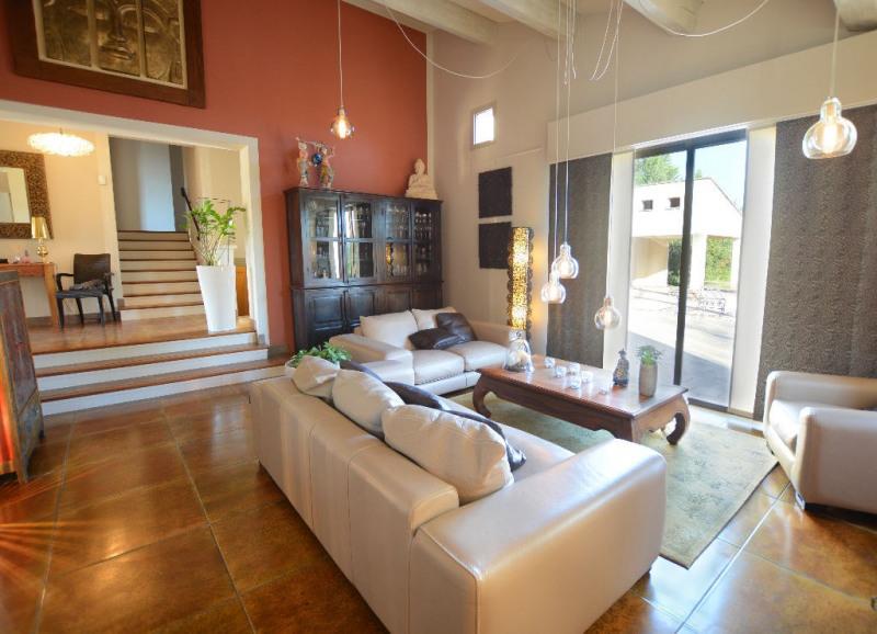 Revenda residencial de prestígio casa Morieres les avignon 655000€ - Fotografia 2