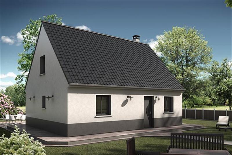 Maison  4 pièces + Terrain 800 m² Gruchet le Valasse (76210) par EXTRACO CREATION