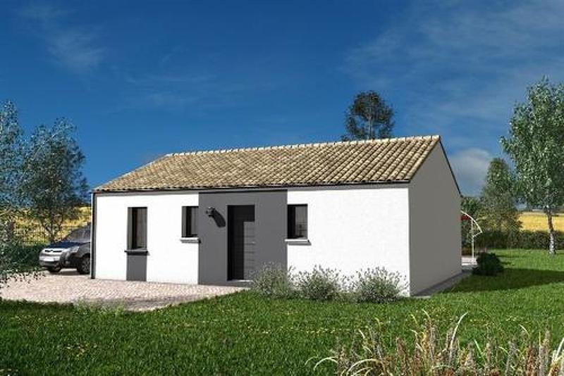 Maison  3 pièces + Terrain 571 m² Chapelle-Viviers par maisons PRIMEA