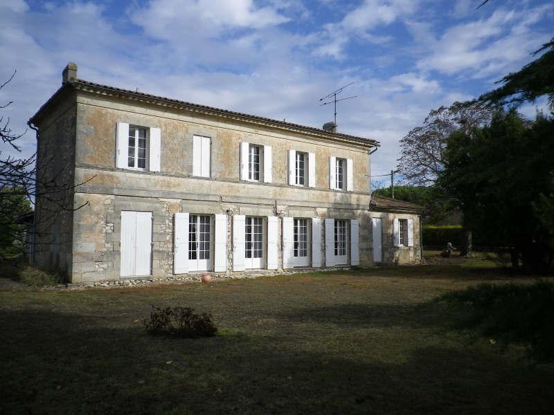 Sale house / villa Blaye 367500€ - Picture 1