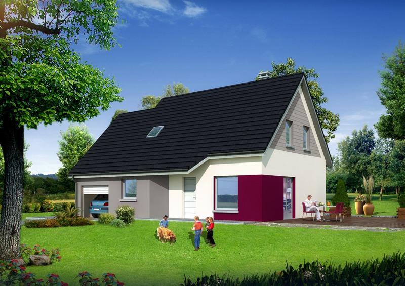 """Modèle de maison  """"Modèle de maison 6 pièces"""" à partir de 6 pièces Doubs par MAISONS ROCBRUNE"""