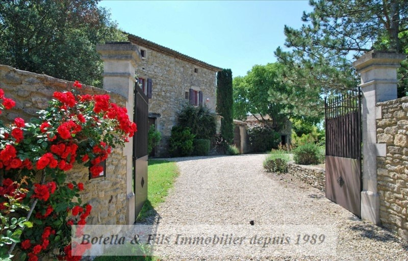 Vente de prestige maison / villa Barjac 699000€ - Photo 3