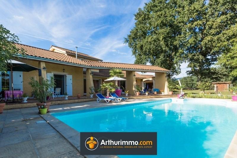 Vente maison / villa Morestel 395000€ - Photo 1