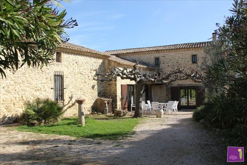 Vente de prestige maison / villa Uzes 509000€ - Photo 1