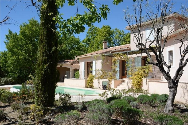 Vente maison / villa Malemort du comtat 518000€ - Photo 2