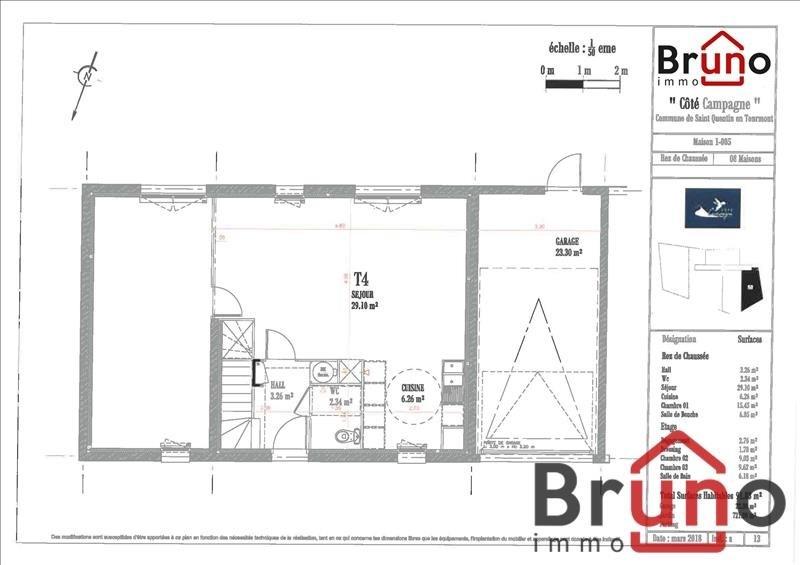 Vendita casa St quentin en tourmont 380000€ - Fotografia 6
