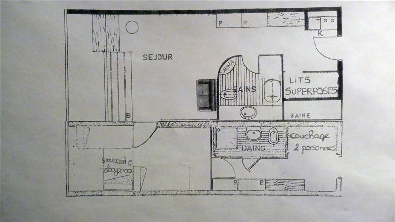 Vente appartement Les arcs 156000€ - Photo 8
