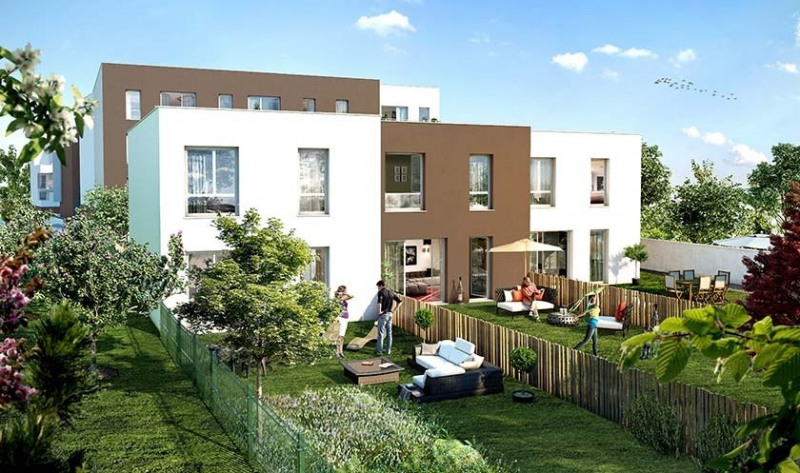 Un jardin en ville programme immobilier neuf clermont for Jardin immobilier