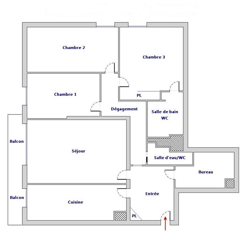 Vente appartement Paris 12ème 719000€ - Photo 3