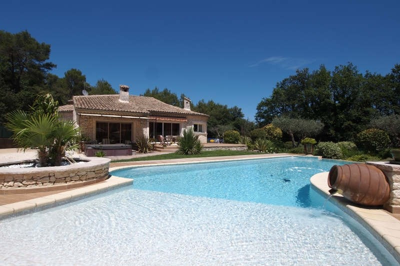 Vente de prestige maison / villa Goudargues 795 000€ - Photo 1