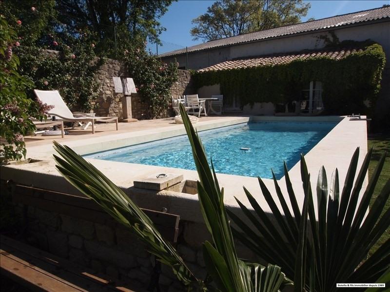Venta de prestigio  casa Uzes 1580000€ - Fotografía 5