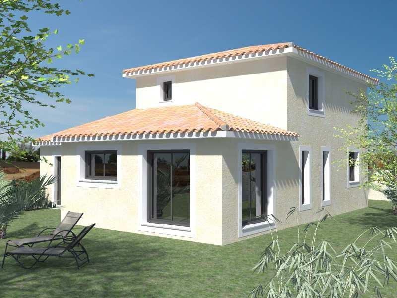 Maison  4 pièces + Terrain 600 m² Saint-Drézéry par Domitia Construction