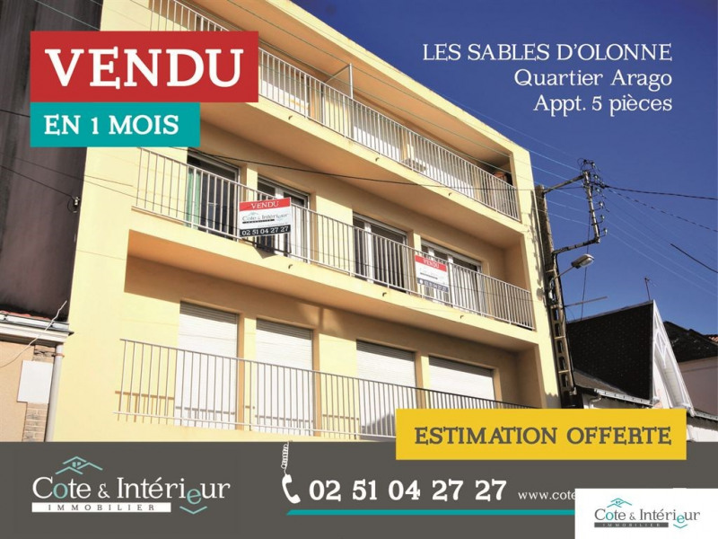 Vente appartement Les sables-d'olonne 260 000€ - Photo 1