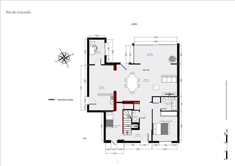 Immobile residenziali di prestigio appartamento Paris 15ème 1898000€ - Fotografia 9