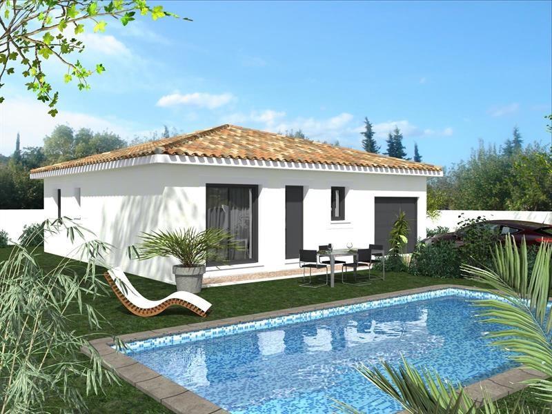 Maison  4 pièces + Terrain 326 m² Beaulieu par Domitia Construction
