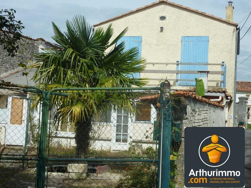 Sale house / villa Beauvais sur matha 64800€ - Picture 1