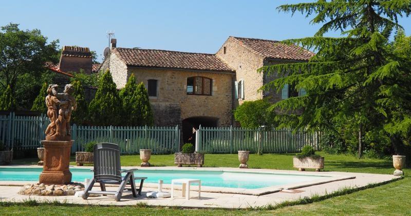 Deluxe sale house / villa Uzes 997500€ - Picture 1