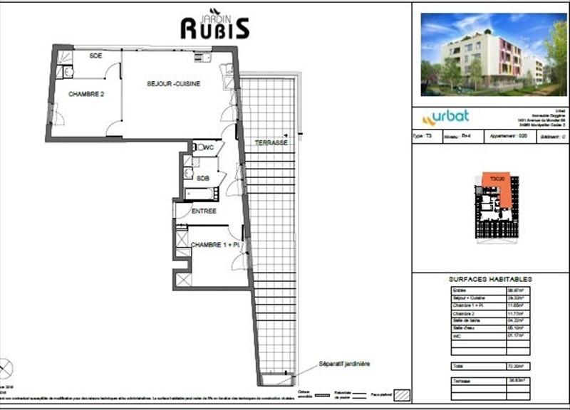 Vente appartement Montpellier 367000€ - Photo 4