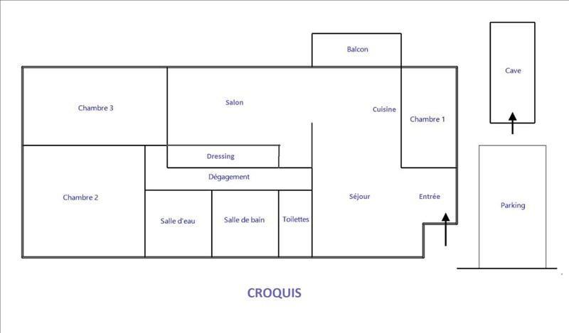 Vente appartement Vaucresson 480000€ - Photo 9